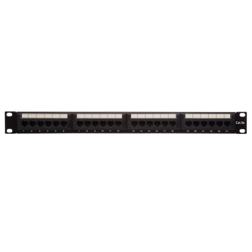 PATCH PANEL  CAT.5E 24P UTP DATALINK