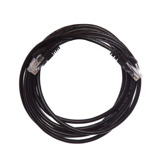 Patch Cord UTP 3 m negru cat 6