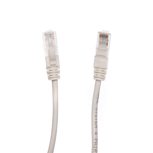 Patch Cord UTP 5 m alb cat 6