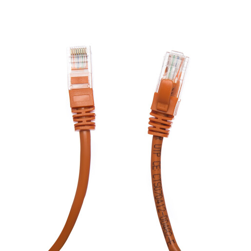 Patch Cord UTP 4 m portocaliu cat 6