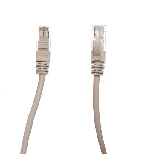 Patch Cord UTP 10 m Gri cat 6