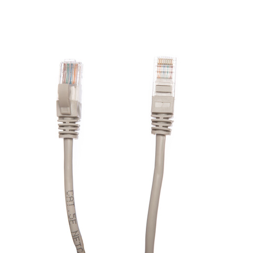 Patch cord cat 5e 0.25 m gri DataLink