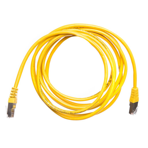 Patch cord cat 5e FTP 3 m galben DataLink