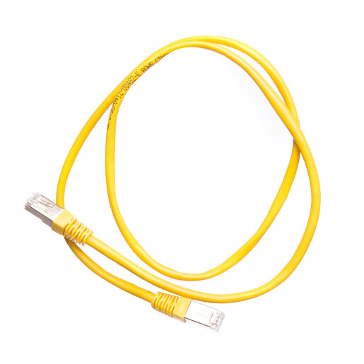 Patch cord cat 5e FTP 1 m galben DataLink