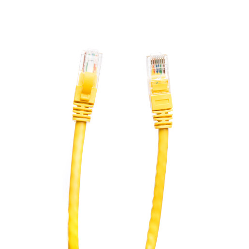 Patch cord cat 5e 0.5 m galben DataLink
