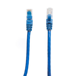 Patch cord cat 5e 0.5 m albastru DataLink