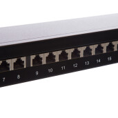 PATCH PANEL  CAT.5E 24P FTP SR