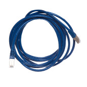 Patch cord FTP cat.6 10 m albastru